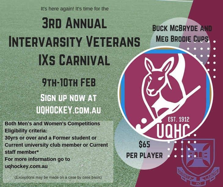 University of  Queensland  Hockey  Club( 4)